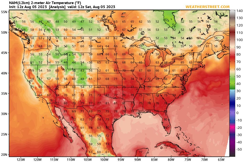 temperature forecast map movie