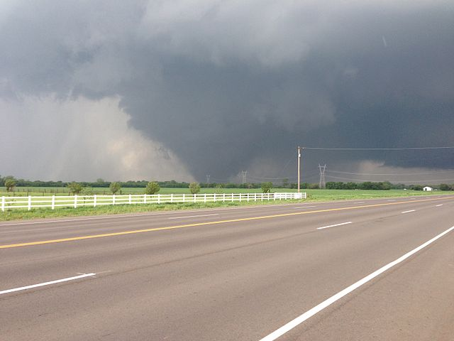 F5 tornado which hit Moore, Oklahoma on May 20, 2013