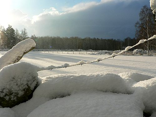snow storms occur as a result of moist air rising at low temperatures